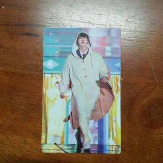 (WTS) Seokjin 4th Muster Photocard