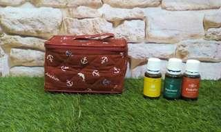 Essential oils travel bag (fit to 12 bottles -15ml)