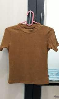 brown knit