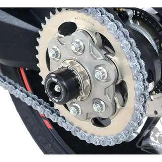 R&G Swingarm Protectors for Ducati Multistrada 1200 (2010-15), 1260S '18- and Ducati Supersport