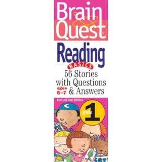 Brain Quest Reading Basics Grade 1 for 6 to 7 years old