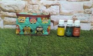 Essential Oils Travel Bag (fit to 12 bottles-15ml)