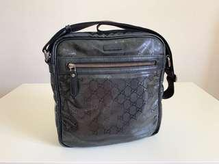 Authentic Gucci Imprime Medium Messenger Bag