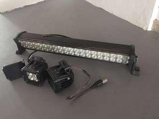 LED Light Bar & Spotlights