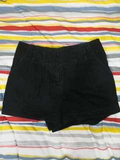 FOREVER21 Black highwaist shorts