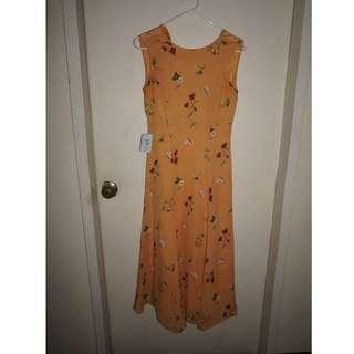 Women's Floral Maxi Dress (S)