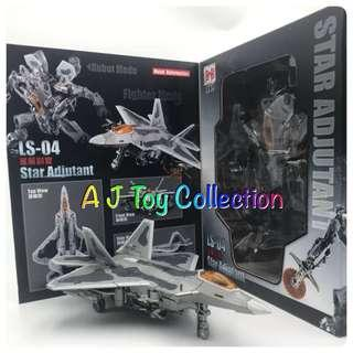 [ In Stock ] Transformers BlackMamba BMB LS-04 Oversize StarScream