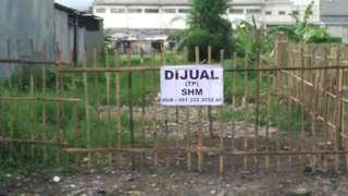 Jual Tanah kavling kosong untuk rumah.ruko.tempat usaha dan investasi