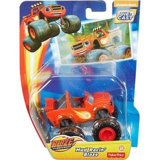 BNIB: Fisher Price Nickelodeon Blaze and The Monster Machines, Mud Racin' Blaze
