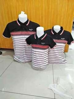 Family Set Polo T-shirt High Quality