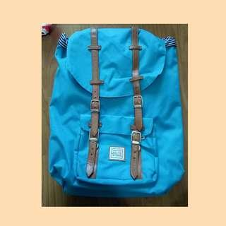 Icon Cyan Blue Camper Large Backpack