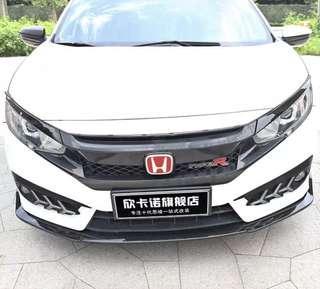 (In stock) BNIB Honda Civic Front Bumper Lip for 10th Gen