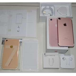 iPhone 7 128GB Rose Gold / iPhone7 128G 玫瑰金 (Ref:7RG-128)