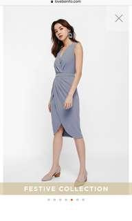 LB Tylen Pencil Wrap Dress