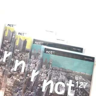 wts nct 127 regular irregular unsealed album