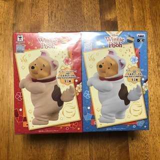 全新 Banpresto Winnie the Pooh 狗年造型一套兩隻