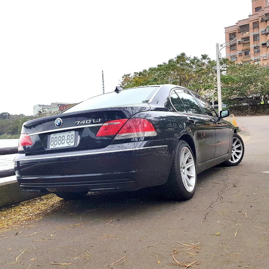 2007/8 BMW 740Li 霸氣登場  可貸80萬售價折一半
