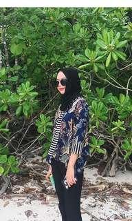 Batik Top (custom made)