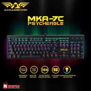 Keyboard gaming steal deal! Mka 7c