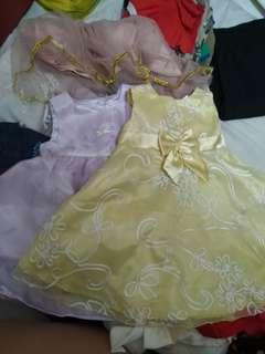 Preloved gowns for girls