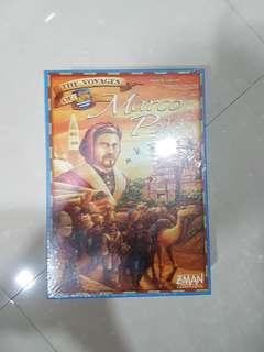 The Voyages Of Marco Polo Brand New Board Game