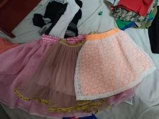 Tutu skirts preloved