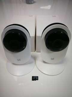 YI ip camera (pack of 2)