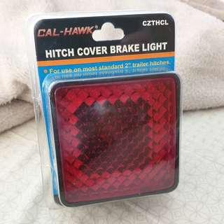 Tow hitch light cover 2x2