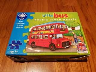 Orchard Toys Double Sided Puzzle (Bus)