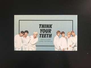 bts x vt cosmetics think your teeth