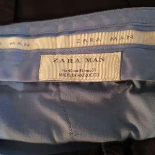 Zara Black Slim Fit Suit (Blazer and Pants)