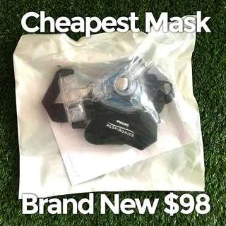Cheapest CPAP Mask Philips Respironics Brand New in Box