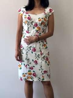 Review Floral Dress