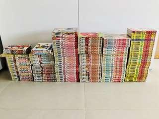 Assorted Chinese Comics / Manga