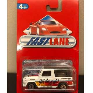 Fast Lane 4 Wheelers Toy Car (White) #MMAR18