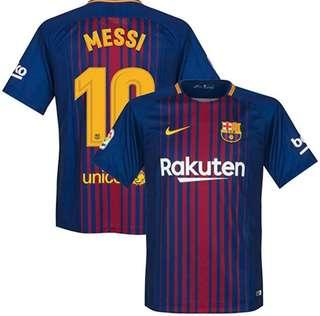 "Barcelona Home Jersey ""Messi"""