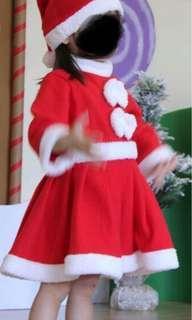 Christmas Santarina Dress *Mint* Condition