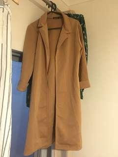 Light weight Camel coat