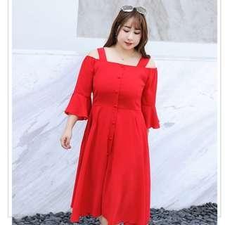 [CNY 2019 Collection] Pre Order [XL - 4XL] Plus Size Dress