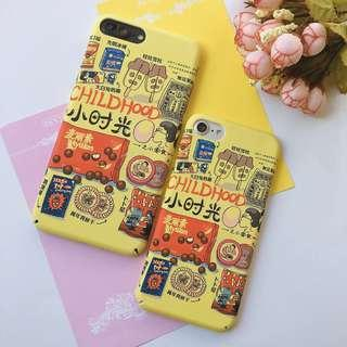 Iphone 6 Japanese Yellow Style Matte Hard Case