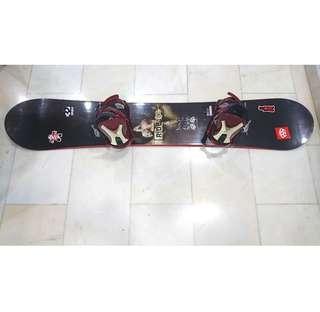 Ride Prophet Snowboard 159cm with bindings