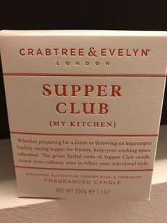 Crabtree & Evelyn fragranced candle - supper club (my kitchen)