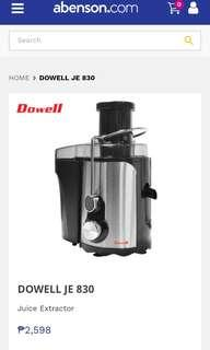 DOWELL JUICER