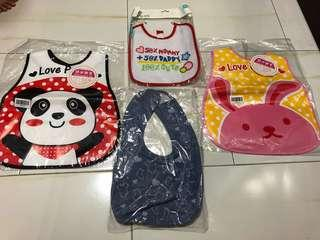 Bibs,all for $10