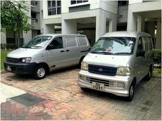Van rental and leasing, P-plate welcome!