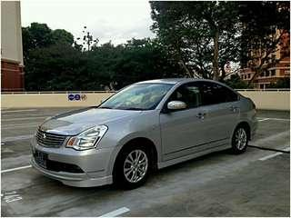 P-plate welcome - Nissan Sylphy 1.5 auto for rent