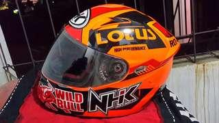 Helm NHK Gp Tech oranye