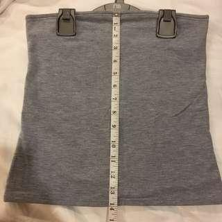 Museum Grey Tube Top (bought & made in Australia)