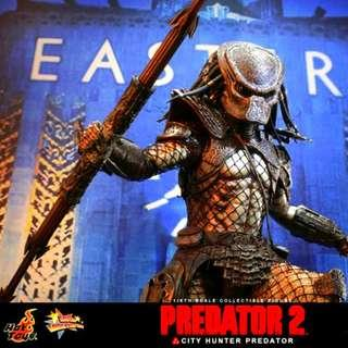 HOT TOYS HOTTOYS PREDATOR 2 P2 CITY HUNTER MMS 173 MMS173 1/6 SCALE FIGURE MISB BRAND NEW SEALED!