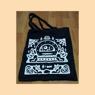 Graphic Design Black Tote Bag